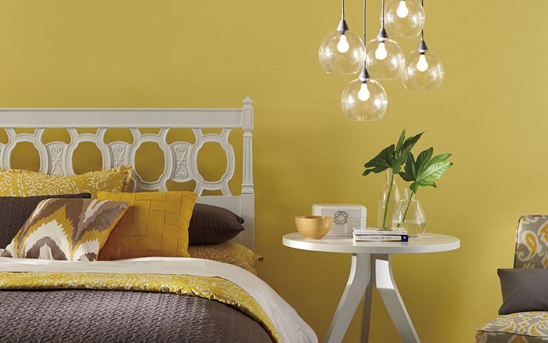 Phòng ngủ đẹp cho người mệnh Thổ