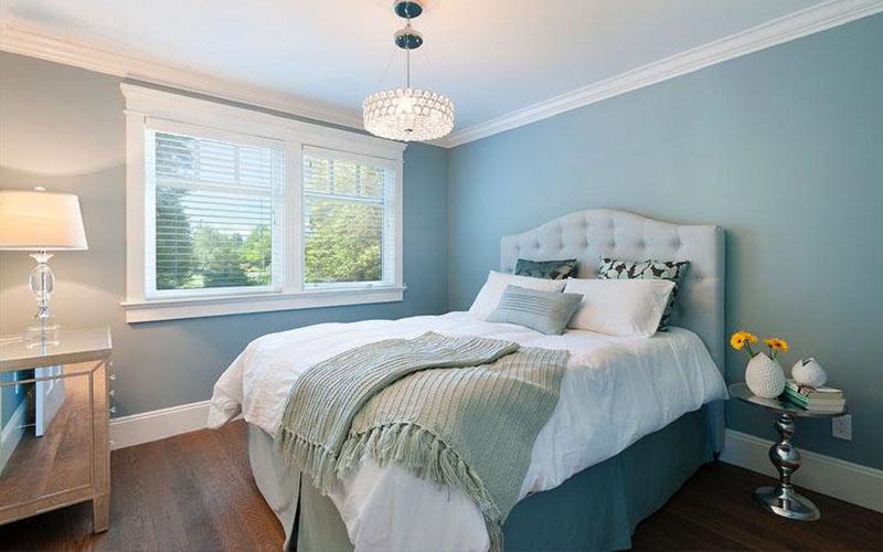 Phòng ngủ đẹp cho người mệnh Thủy