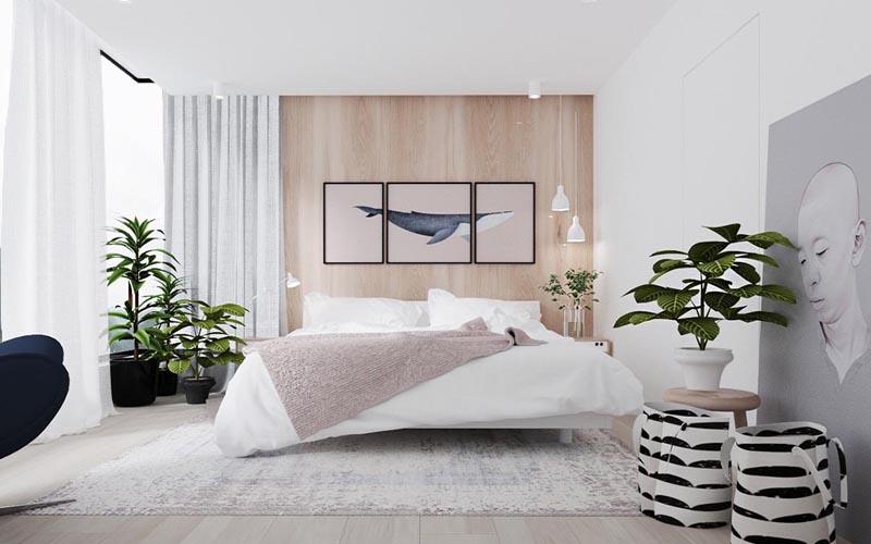 Phòng ngủ đẹp dành cho người mệnh Kim