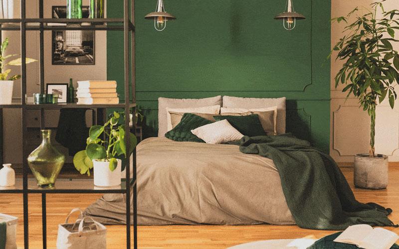 Phòng ngủ đẹp dành cho người mệnh Mộc
